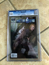 DOCTOR WHO #4 cgc 9.8 11th Doctor ONGOING IDW from 2011 with AMY & RORY