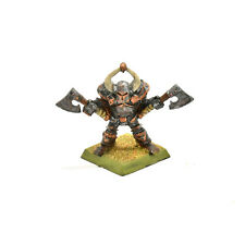 WARRIORS OF CHAOS  Collector's Slambo Classic Warrior with two Axe #1 METAL