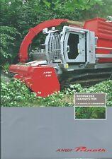 Equipment Brochure - AHWI Prinoth Biomass Harvester 2011 FRENCH language (E4491)