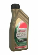 CASTROL EDGE TURBO DIESEL 5w-40 1 LITRI MERCEDES BMW ll-04 VW Ford Renault 0710