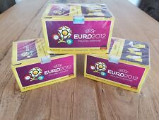 Panini EM EURO 2012 - 3 x Display / 300 Tüten / 1.500 Sticker NEU & OVP