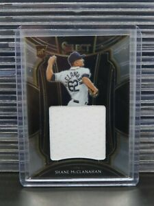 2021 Select Shane McClanahan Rookie Card RC Jersey Patch Relic Swatch Rays R456