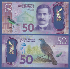 NUOVA Zelanda/New Zealand dollaro 50 (2016) UNC P. NEW