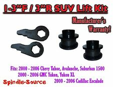 "2000 - 2006 Chevrolet GMC 1500 1-3"" / 3"" Torsion Key Lift Chevy 00-06 Spacer Kit"