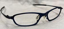 Authentic Oakley O5 Eyeglasses Frames 50[]19 127 Cobalt 11-638