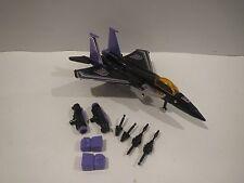 Vintage G1 Transformers SKYWARP w/ specs 100% COMPLETE and ORIGINAL seeker jet
