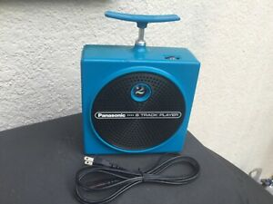 Panasonic TNT 8-Track Player Blue RQ-830S works and looks very good