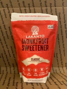 Lakanto Monk Fruit Sweetener, 28.22 oz Keto 1.76 Lbs