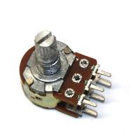B10K 10K Ohm Single Linear Rotary Taper Potentiometer for Audio Volume Control