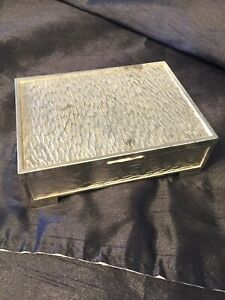 Silver Plated Box Tarnish Protected By Homemaker