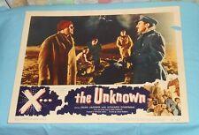 original X ... THE UNKNOWN lobby card #4 Dean Jagger Edward Chapman