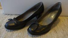 Maripe Maripé Pumps Trotteur Schuh Absatz schwarz Größe 38,5  5 1/2