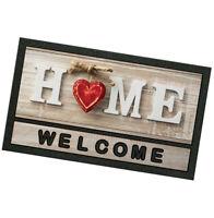 Zerbino gomma 40x70 antiscivolo welcome tappeto asciugapassi casa shabby chic