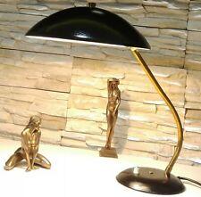 Deutsche SIS Art Deco Design Tischlampe Ära Kaiser Idell Bauhaus Vintage 1950-60