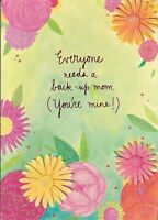 Papyrus Mother's Day card - Everyone Needs a Back-Up Mom - You're Mine!