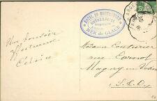 74 CHAMONIX HOTEL DU MONTANVERT SIMOND ET PAYOT CARTE POSTALE 1908