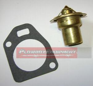 387533R91 Thermostat & 45102DA Gasket for IH Farmall H HV Super H HV 300 350 160