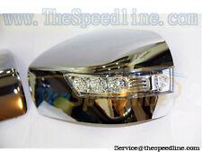 07 08 09 Mazda CX-9 LED Chrome Side Mirror Cover Genuine Part CX9