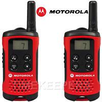 4Km Motorola TLKR T40 Walkie Talkie 2 Two Way PMR 446 Compact Radio Twin Set