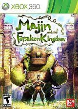 NEW! Majin and the Forsaken Kingdom (Microsoft Xbox 360, 2010)Factory Sealed