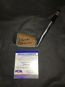Jack Burke Signed Official Model Golf Club 1956 Masters Champ 3 Iron PSA/DNA
