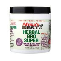 [AFRICA'S BEST] HERBAL GRO SUPER HAIR & SCALP CONDITIONER 5.25OZ