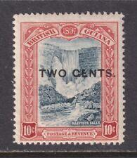 British Guiana SG 223b Scott 158a F/VF LH 1899 2c on 10c GENTS for CENTS SCV $70