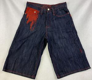COOGI Authentic Australian Men's Jeans Short W32 (32x15) Embroidered