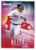 2016 Topps Bunt Crossover 11 Mookie Betts Vapor /289