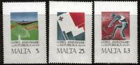 MALTA MNH 1975 SG552-554 1ST ANNIVERSARY OF REPUBLIC SET OF 3