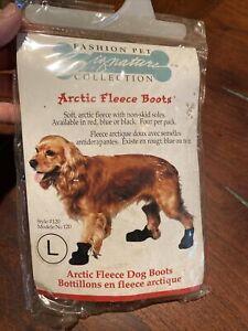 dog fleece boots Large (Purple) or Medium (Red) Benefits Charity