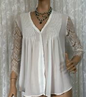 FATE SIZE 12 SHEER SHIRT