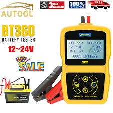 12V Auto Car Battery Tester System 220Ah Charging Cranking Test Analyzer 2000CCA