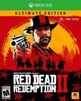 Red Dead Redemption 2 ultimate edition Xbox One (read the description clearly)