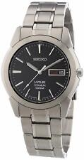 NEW Seiko SGG731 Titanium Men's Quartz Watch Sapphire Crystal - SGG731P1