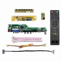 LCD LED screen Controller Driver Board kit for HB140WX1-500 TV+HDMI+VGA+USB