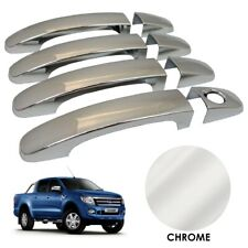 CHROME Door Handle Covers for Ford Ranger T6 2012-2015