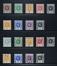 LEEWARD ISLANDS, QEII, a collection of 18 stamps for sorting, MM & used condt.