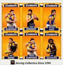 2017 Select AFL Footy Stars Trading Cards Footy Standups Team Set (6)-W.COAST