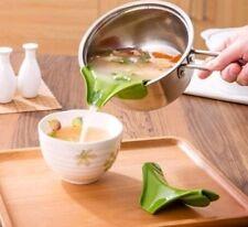 Topf Umfüller Silikon Küchenhelfer Trichter Pfanne Umweltfreundlich Suppen Küche