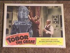 TOBOR THE GREAT 1954 LOBBY CARD #8 HORROR SCI FI