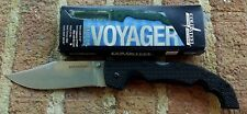 COLD STEEL XL(X-Large) VOYAGER Plain CTS BD1 Clip Point Folding Knife