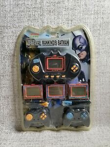 Retieval Mankind Batman XY-930 4 in 1 Game LCD Handheld Electronic Game MOSC