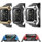 Apple Watch Cover Case Protective Iwatch 38 42mm Hard Thin Slim With Strap Bands