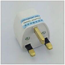 US AU DE EU Universal all countries to UK AC Adapter Power Plug Converter Socket