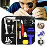 Watch Repair Tool Kit Case Opener Link Spring Bar Remover Watchmaker Tool Set