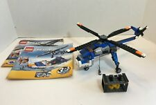 LEGO Creator 3 in 1 Sets 4995 Helicopter/Airplane & 31049 Twin Spin Helicopter