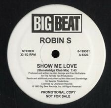 "ROBIN S Show Me Love 12"" NEW VINYL Big Beat House Classic"