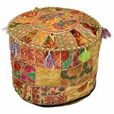 Decorative Living Room Foot Stool Bohemian Chair Covers Handmade Pouffe