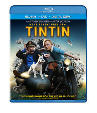 The Adventures of Tintin [New Blu-ray] With DVD, UV/HD Digital Copy, Widescree